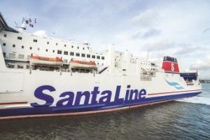 Rejs z Santa Line? Coraz więcej pasażerów wybiera prom na świąteczny wyjazd