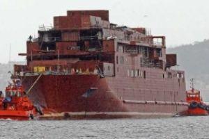 Trasmediterránea przejmuje niedokończoną konstrukcję statku Viking ADCC