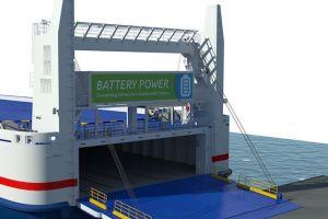 Napęd elektryczny na jednym z promów Stena Line