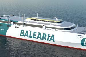 Baleària zamawia nowy prom. Pierwszy taki statek na świecie