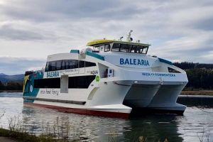 Pierwszy z czterech ekologicznych promów dla firmy Baleària już gotowy