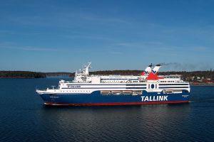Balaria z nowym nabytkiem. To prom dobrze znany z rejsów na Bałtyku