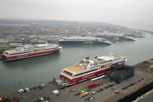 Port w Hirtshals - główne skrzyżowanie szlaków skandynawskich