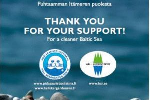Viking Line wspiera organizacje proekologiczne