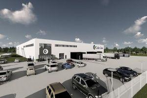 Color Line rozpoczyna budowę nowego centrum logistycznego w Hirtshals