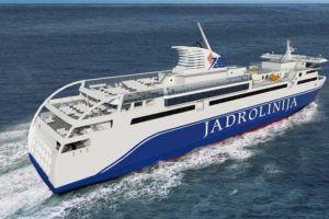 Pierwsza wizualizacja nowego promu dla firmy Jadrolinija