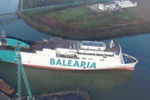 Nowe promy Baleària coraz bliżej. Marie Curie już zwodowana