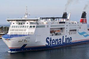 Alarm bombowy na pokładzie promu Stena Line