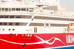 Viking XPRS zyska nowe oblicze. Rozpoczęła się modernizacja promu