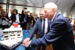 Wyjątkowa uroczystość z okazji 50-lecia połączenia Göteborg-Kilonia
