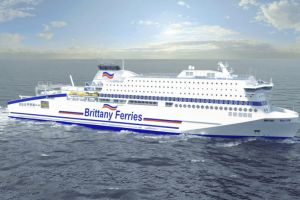Brittany Ferries opracowało specjalny system dostarczania paliwa dla nowego promu