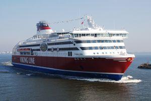 Viking Line - 870 pasażerów sztormowało na promie przez całą noc
