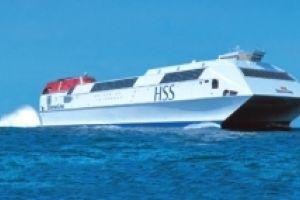 Pożegnanie promu Stena Explorer