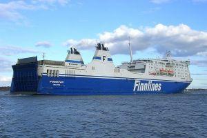 Finnlines zwiększa przestrzeń ładunkową na trasie Helsinki-Travemünde