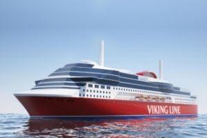 Wärtsilä dostarczy nowoczesne układy dual-fuel dla budowanego dla Viking Line promu