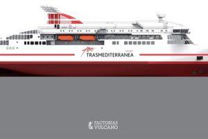 Trasmediterranea podpisała umowę na dokończenie budowy odkupionego promu Viking ADCC