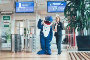 Stena Line wita nową maskotkę - Morświna Happy