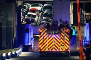 Incydent na promie należącym do Wightlink. Cztery osoby zostały ranne