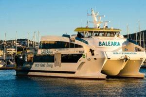Ostatni z serii ekologicznych promów zbudowanych dla firmy Balearia jest już na trasie
